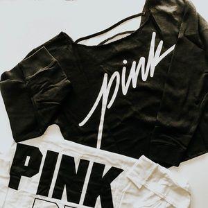 VS PINK ladder back sweatshirt
